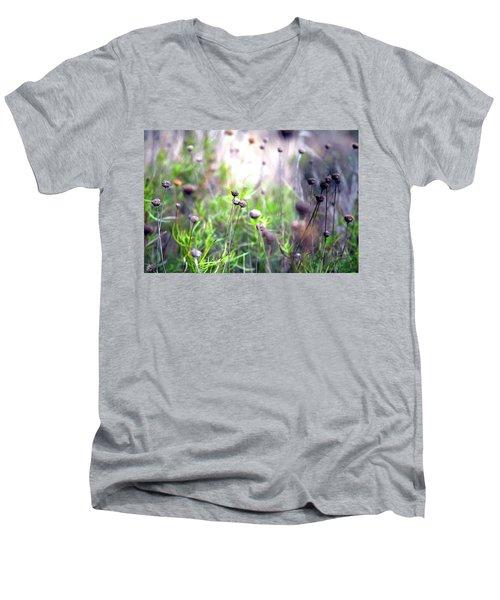 Field Flowers Men's V-Neck T-Shirt