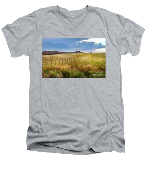 Fields Of Gold Men's V-Neck T-Shirt
