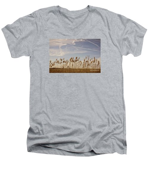 Fields O'grain Men's V-Neck T-Shirt