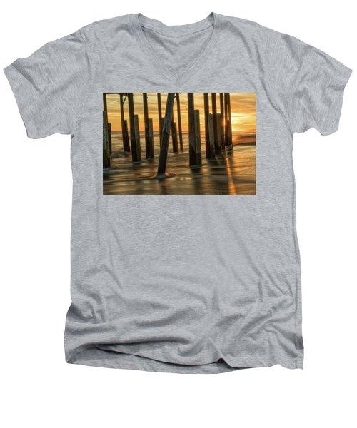 Fiery Kiss Men's V-Neck T-Shirt
