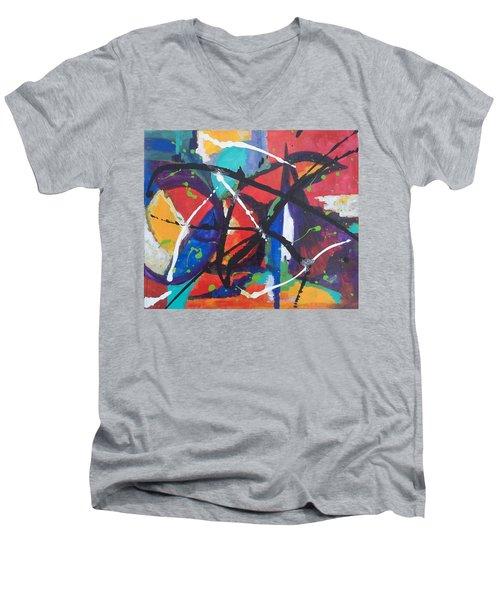 Fiesta Dance Men's V-Neck T-Shirt