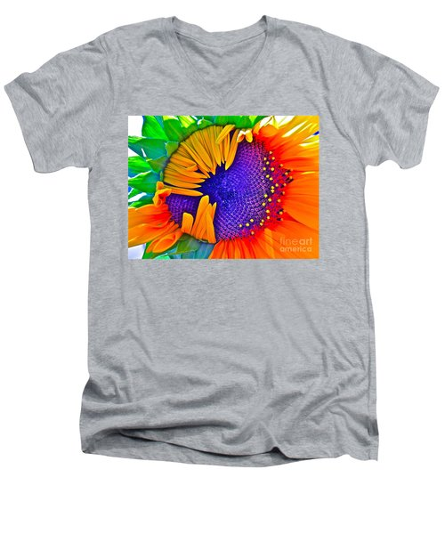Fiesta Men's V-Neck T-Shirt