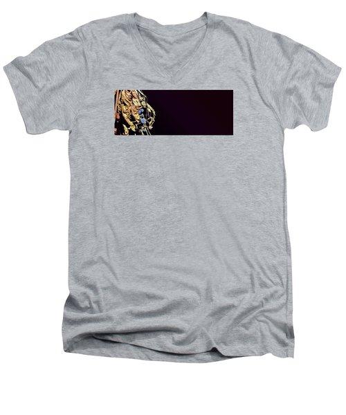 fig Men's V-Neck T-Shirt