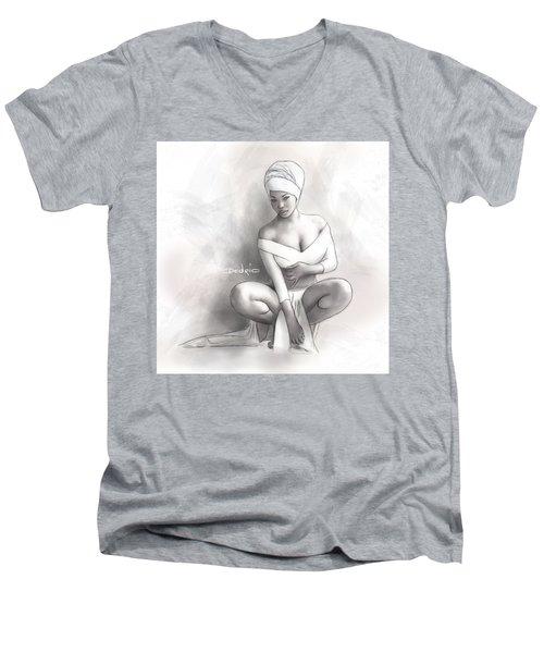 Figure Study 1 Men's V-Neck T-Shirt