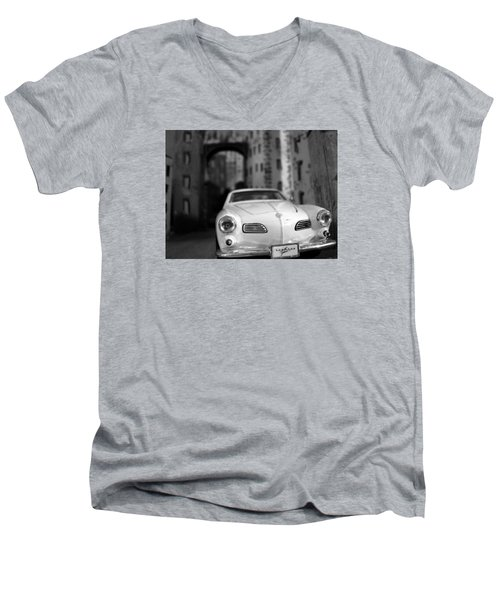 Film Noir Men's V-Neck T-Shirt