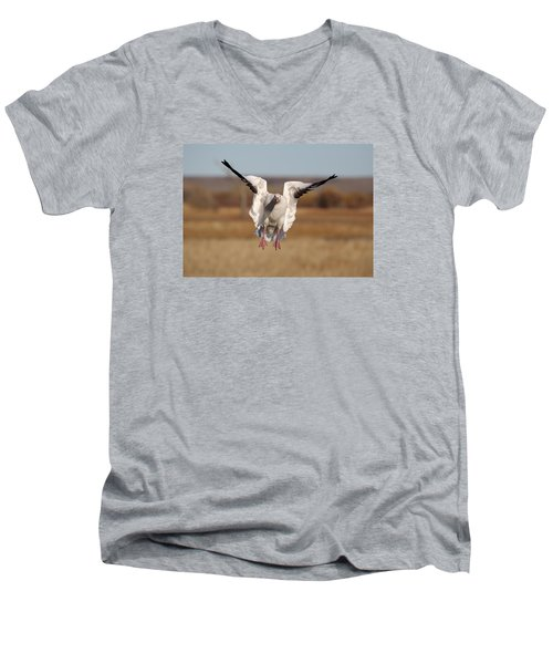 Final Approach Men's V-Neck T-Shirt