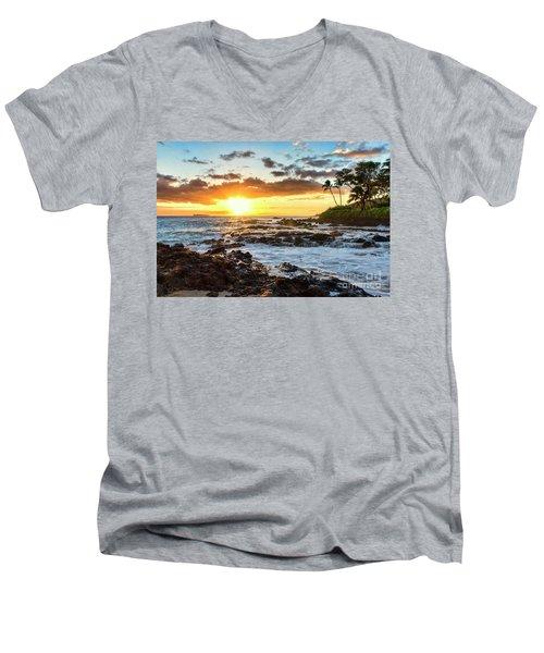 Find Your Beach 2 Men's V-Neck T-Shirt