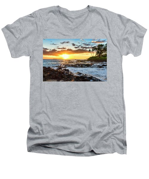 Find Your Beach 2 Men's V-Neck T-Shirt