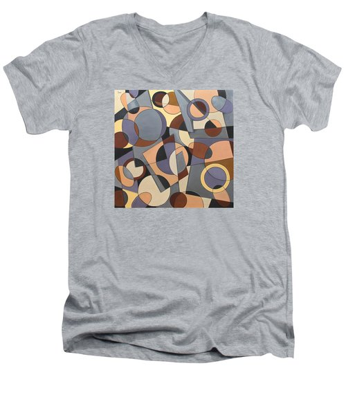 Finding A Way Men's V-Neck T-Shirt by Trish Toro