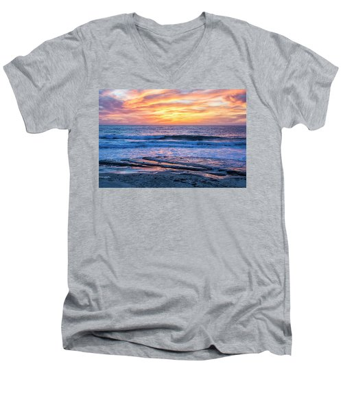 Fine End To The Day Men's V-Neck T-Shirt