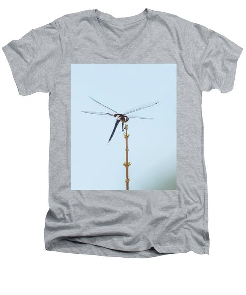 Finnon Dragonfly Men's V-Neck T-Shirt