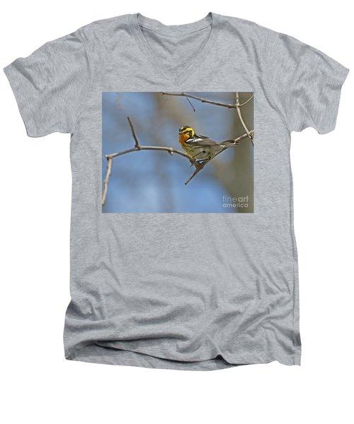 Fire Throat... Men's V-Neck T-Shirt