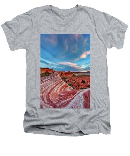 Fire Wave IIi Men's V-Neck T-Shirt