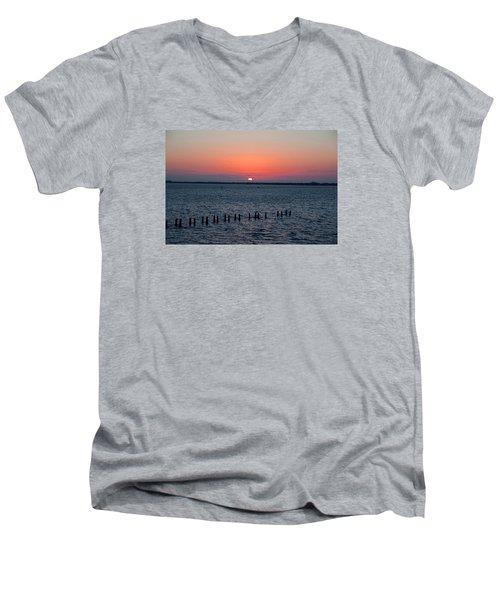 Firefly Finish Men's V-Neck T-Shirt