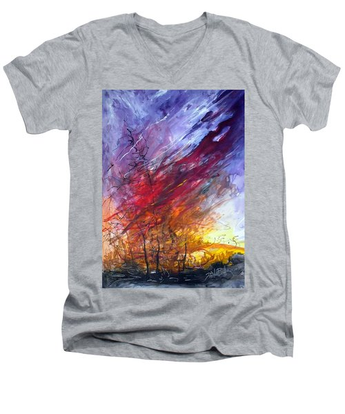 Firescape Men's V-Neck T-Shirt