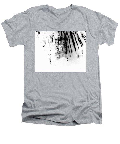 Firework Abstract 6 Men's V-Neck T-Shirt