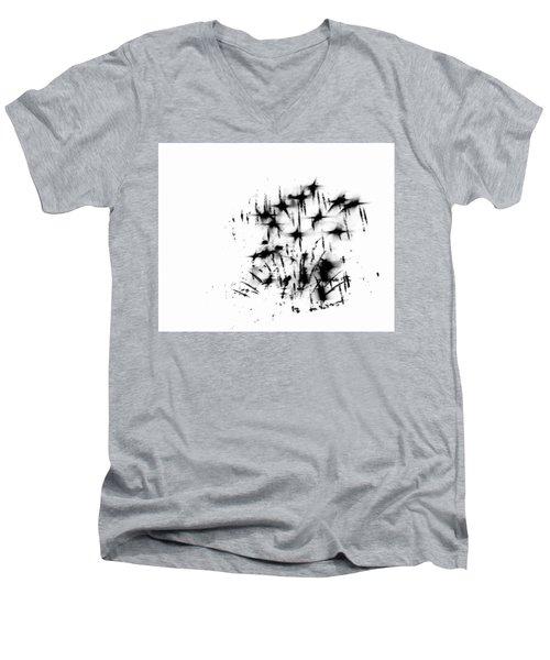 Firework Abstract 7 Men's V-Neck T-Shirt