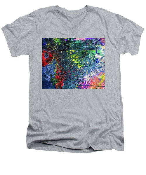 Fireworks Men's V-Neck T-Shirt