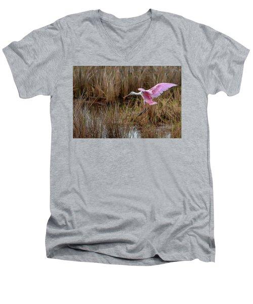 First Arrival Men's V-Neck T-Shirt
