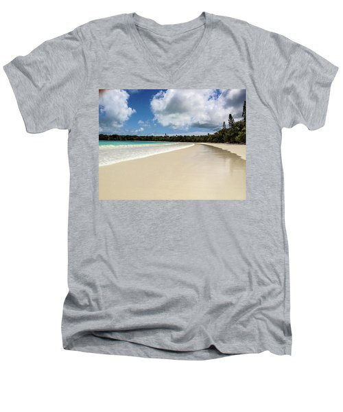 First Footprints Men's V-Neck T-Shirt