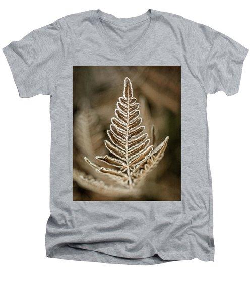 First Frost Men's V-Neck T-Shirt