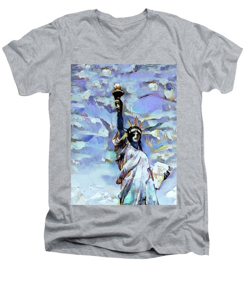First Lady Of The United States Men's V-Neck T-Shirt