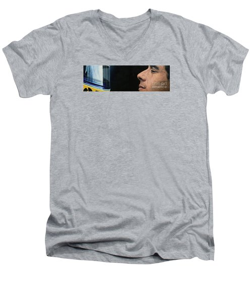 First Of May Men's V-Neck T-Shirt