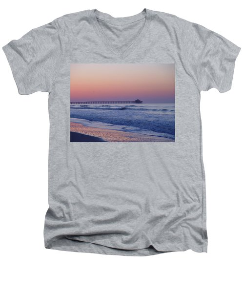 First Pier Men's V-Neck T-Shirt