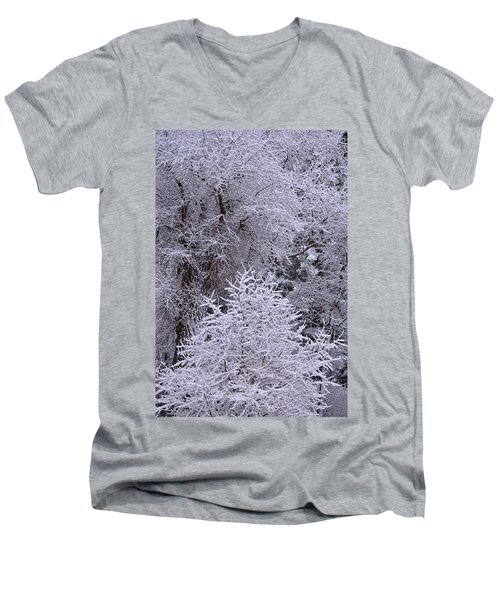 First Snow I Men's V-Neck T-Shirt
