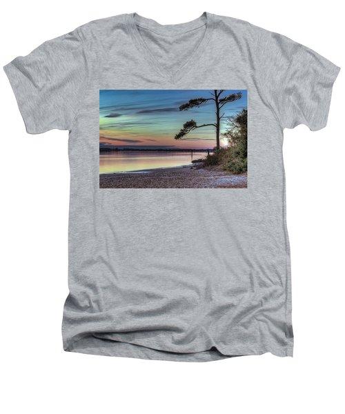 First Sunset Men's V-Neck T-Shirt
