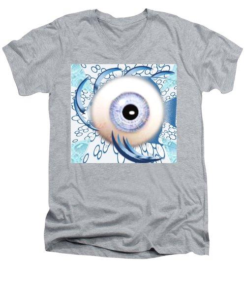 Fish Eye Men's V-Neck T-Shirt