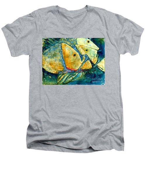 Fish Friends Men's V-Neck T-Shirt