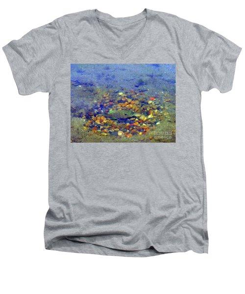 Fish Spawning Men's V-Neck T-Shirt