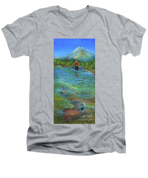 Fish Story Men's V-Neck T-Shirt