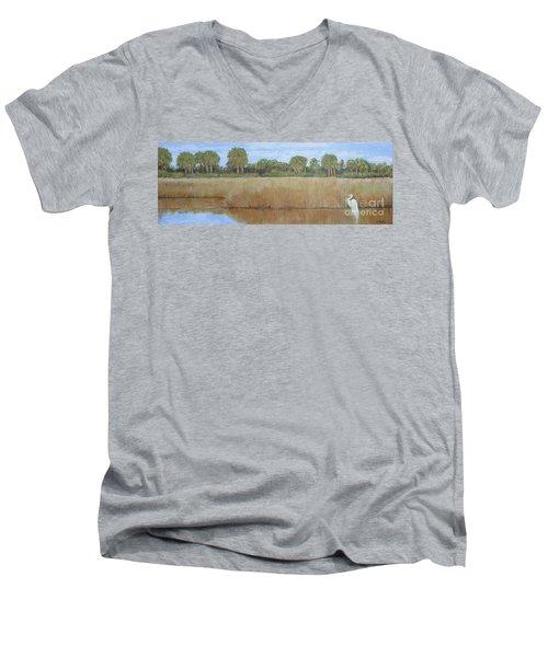 Fisher King Men's V-Neck T-Shirt