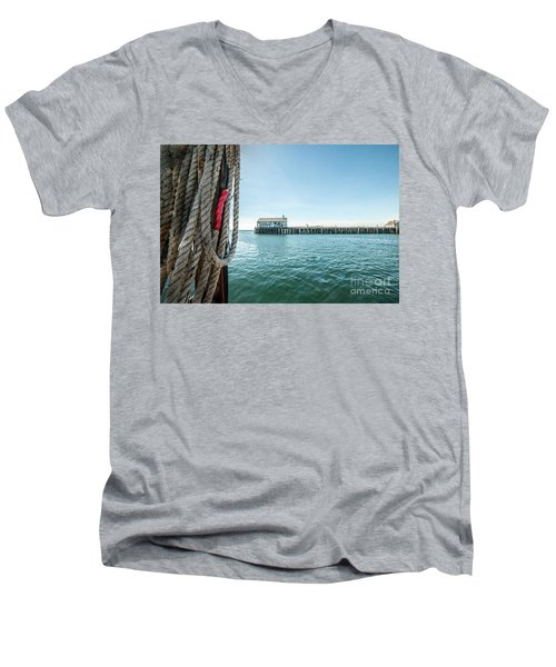 Fisherman's Wharf Men's V-Neck T-Shirt
