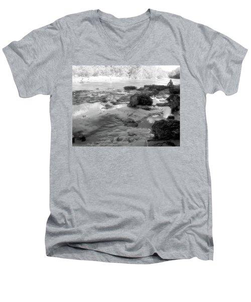 Fishermen Men's V-Neck T-Shirt by Beto Machado