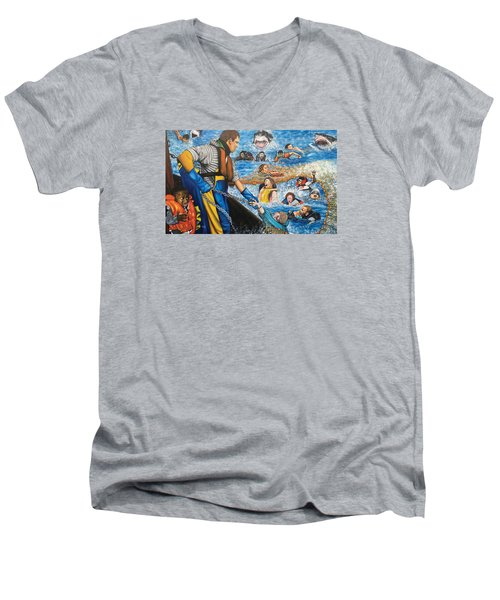 Fishers Of Men Men's V-Neck T-Shirt