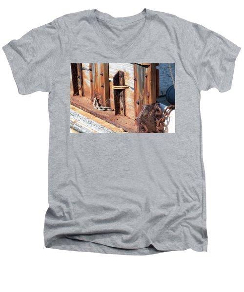 Fishing Boat 6 - Men's V-Neck T-Shirt