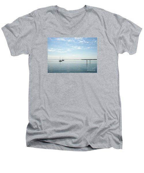 Fishing Buddies Men's V-Neck T-Shirt