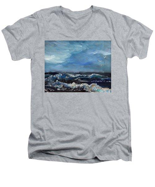 Fishing Expedition Men's V-Neck T-Shirt