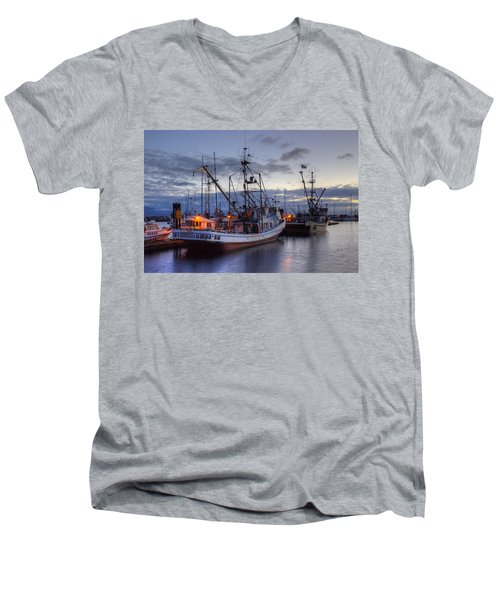 Fishing Fleet Men's V-Neck T-Shirt