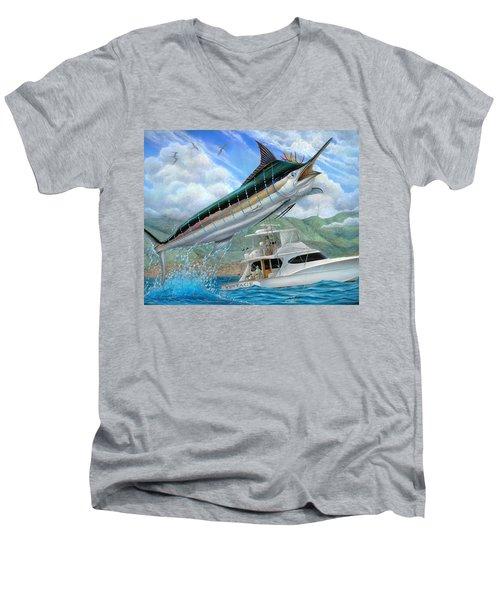 Fishing In The Vintage Men's V-Neck T-Shirt