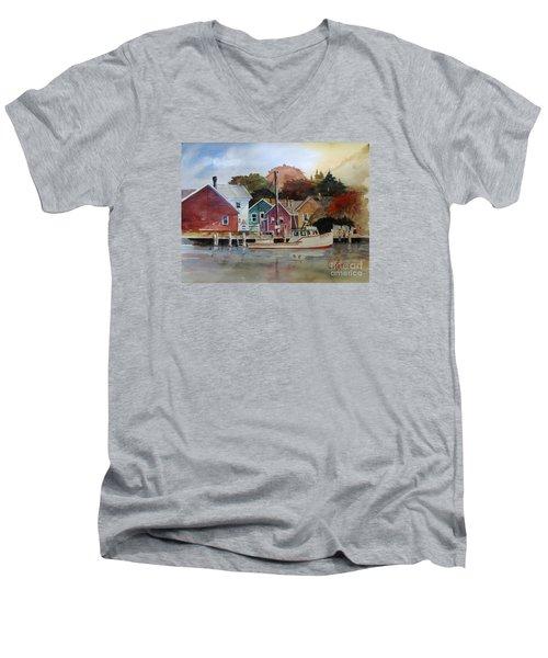 Fishing Village Men's V-Neck T-Shirt