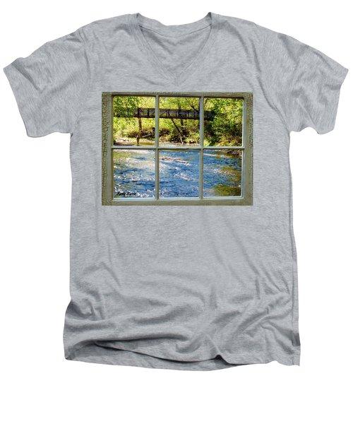 Fishing Window Men's V-Neck T-Shirt