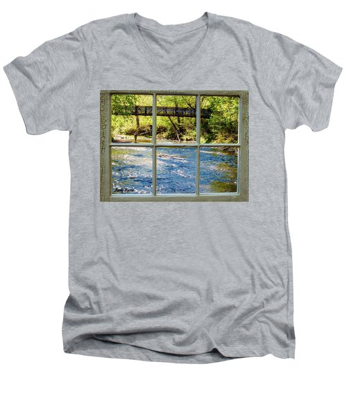 Fishing Window Men's V-Neck T-Shirt