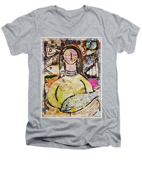 Fishmonger's Wife Men's V-Neck T-Shirt