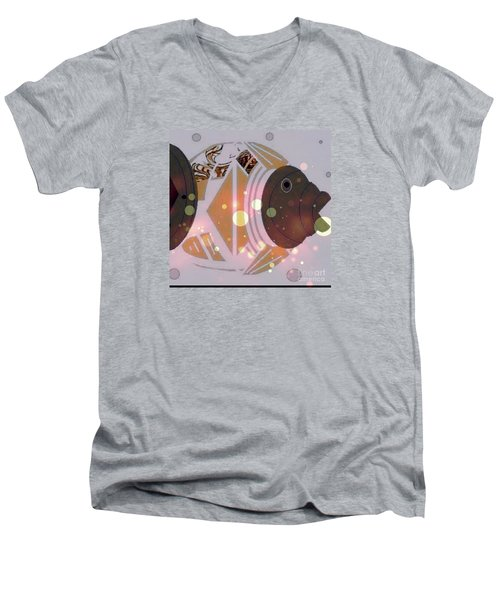Fishy 2 Men's V-Neck T-Shirt