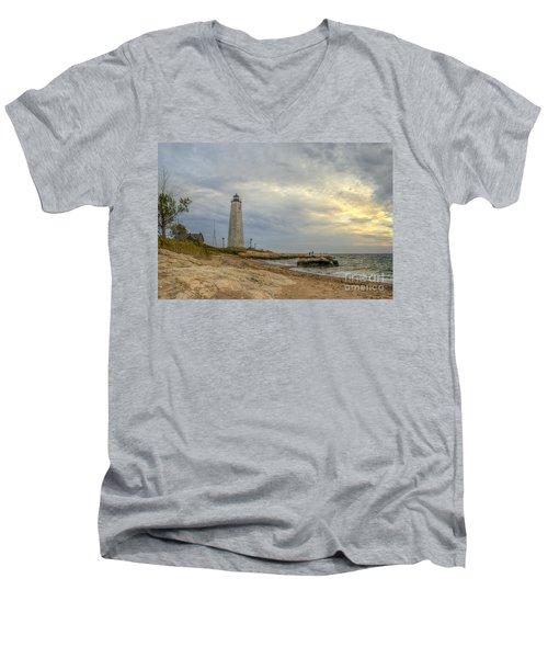 Five Mile Point Men's V-Neck T-Shirt