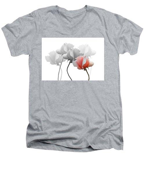 Five Roses Men's V-Neck T-Shirt by Rosalie Scanlon